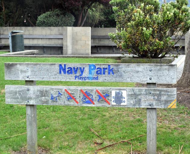 Navy Park, Dunedin. Photo: ODT files