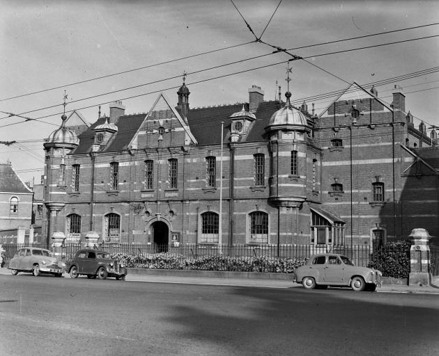 The prison as it looked in the 1950's. Photo: ODT files