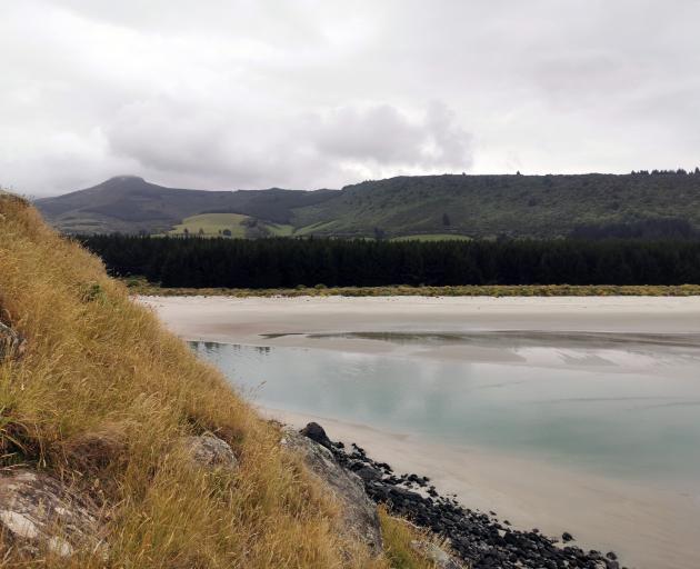 Purakaunui turns on a thousand shades of grey for the summer holidays. Photos: Nathan Me Ikle
