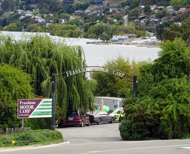 Queenstown's Frankton Motor Camp is set to close for renovations later this week. PHOTO: TRACEY...