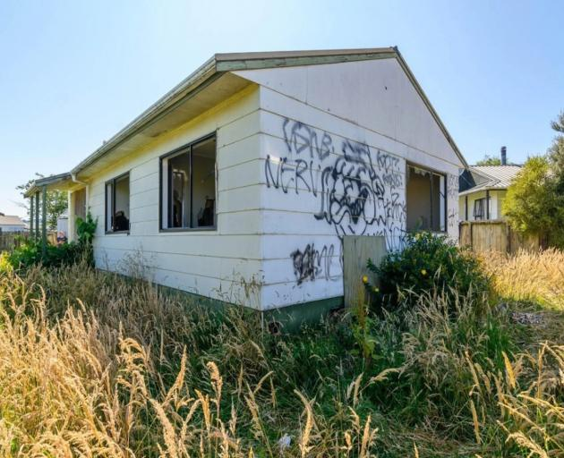 The three-bedroom, double-garage property in the suburb of Owhata is in such poor condition it is not safe to have open homes. Photo: Supplied via NZ Herald