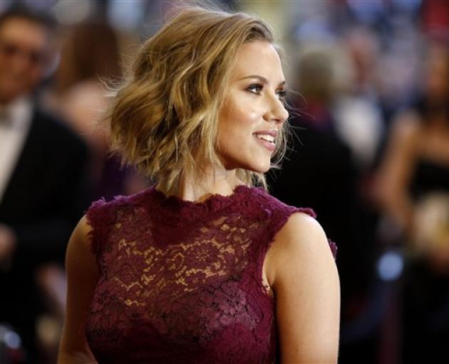 Scarlett Johansson. Photo: Reuters