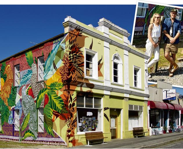 Colour has transformed the Victorian building at 96 Scotland St, Roxburgh. The work was done by...