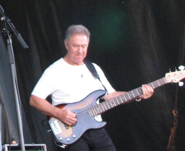 Creedence Clearwater Revisited band member Stu Cook.