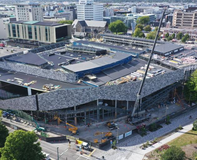 Te Pae Christchurch Convention Centre. Photo: Otakaro Ltd