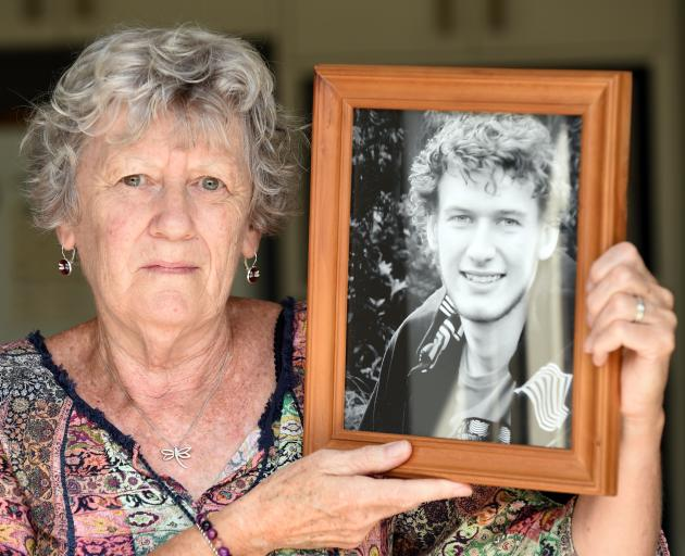 Mosgiel woman Ngairena Hibbs is hoping someone will find the missing urn containing some of the ashes of her son, Todd Campbell (pictured). Photos: Gerard O'Brien