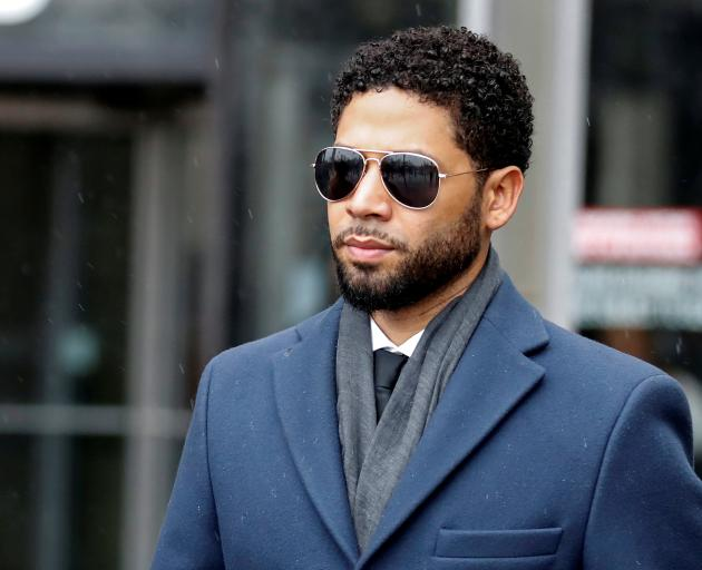 Jussie Smollett is facing six charges of disorderly conduct. Photo: Reuters