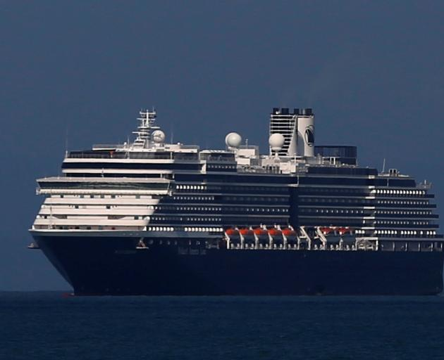 The Westerdam makes for Sihanoukville port in Cambodia on Thursday. Photo: Reuters