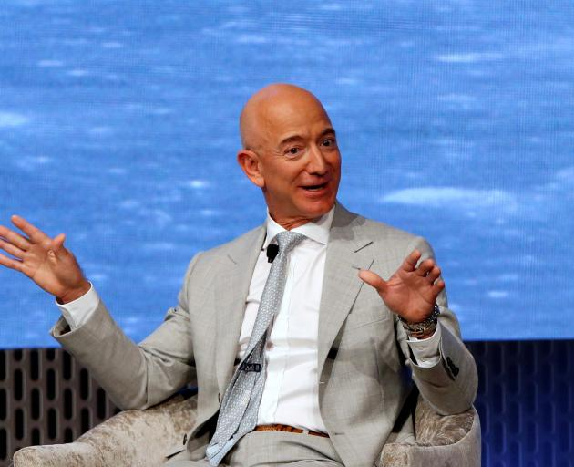 Amazon founder Jeff Bezos. Counteracting climate change has become a popular cause for US...