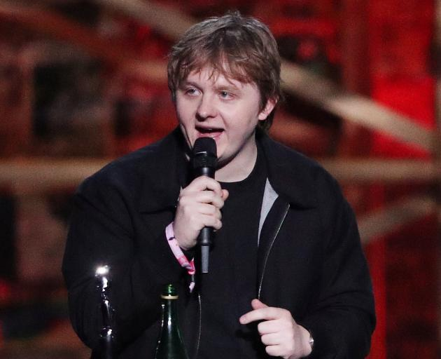 Lewis Capaldi scooped two awards. Photo: Reuters