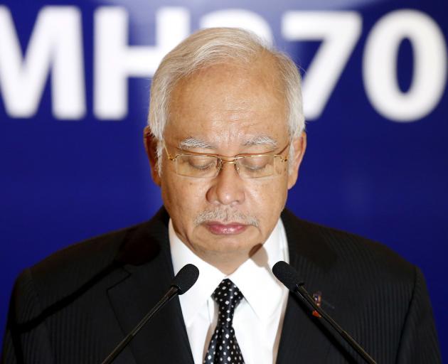 Former Malaysian leader Najib Razak. Photo: Reuters