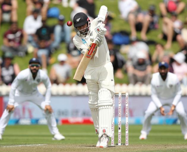 New Zealand's Kane Williamson in action. Photo: Reuters