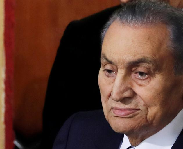 Hosni Mubarak presided over an era of stagnation and repression at home. Photo: Reuters