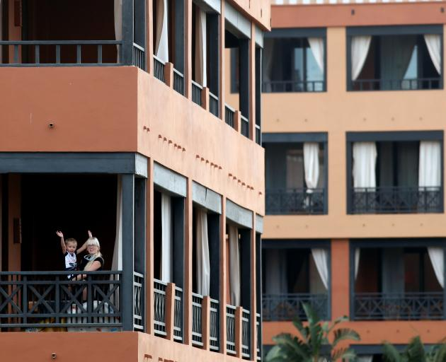 Four cases of coronavirus have been deteceted at the  H10 Costa Adeje Palace Hotel. Photo: Reuters