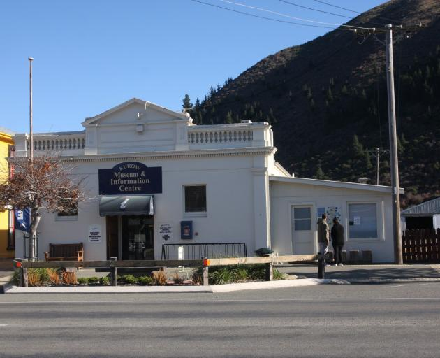 The Kurow Museum and Information Centre building in Bledisloe St needs earthquake strengthening...