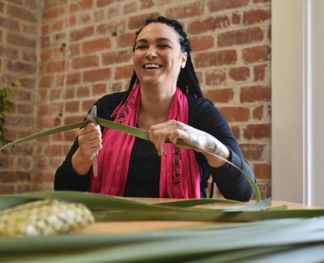 Traditional Maori artist and fashion designer Amber Bridgman has been selected for the 13th Festival of Pacific Arts and Culture. Photo: Kerry Hodge