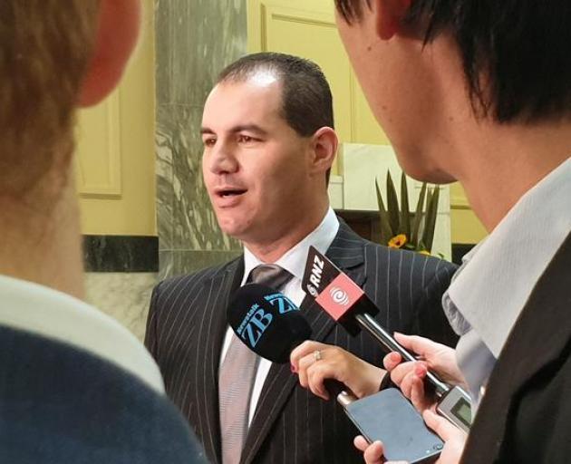Independent MP Jami-Lee Ross. Photo: RNZ