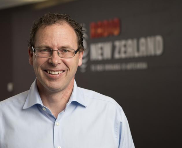 Chief executive Paul Thompson. Photo: RNZ
