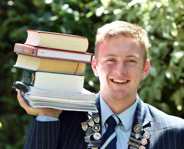 King's High School pupil George Bates has won a New Zealand Qualifications Authority premier...