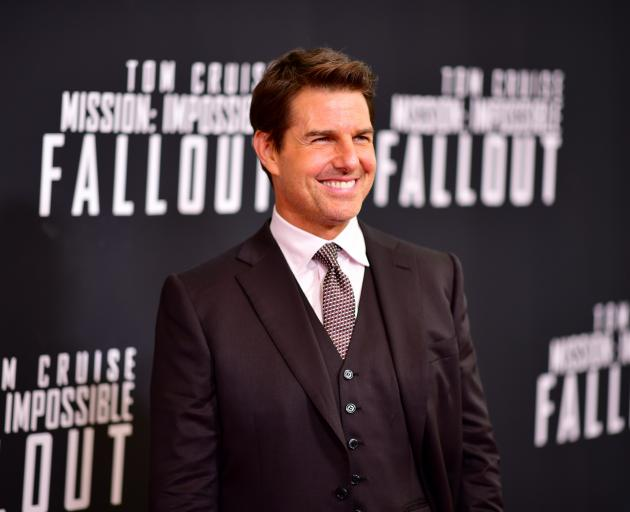 Tom Cruise also visited NZ during the filming for Mission Impossible: Fallout in 2017. Photo:...