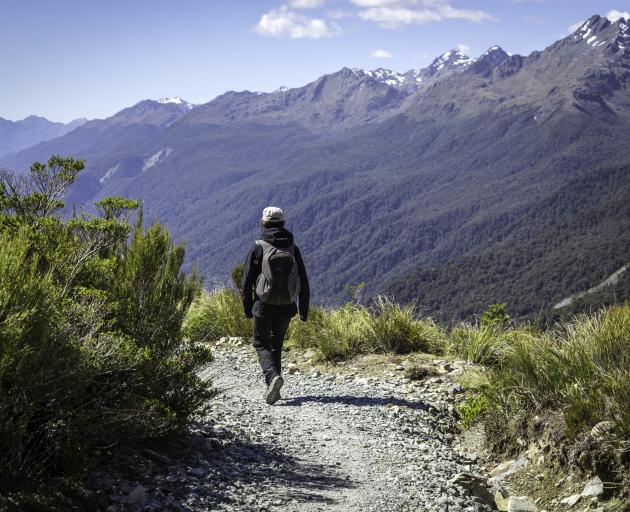 Key Summit on the Routeburn. Photo: Getty Images