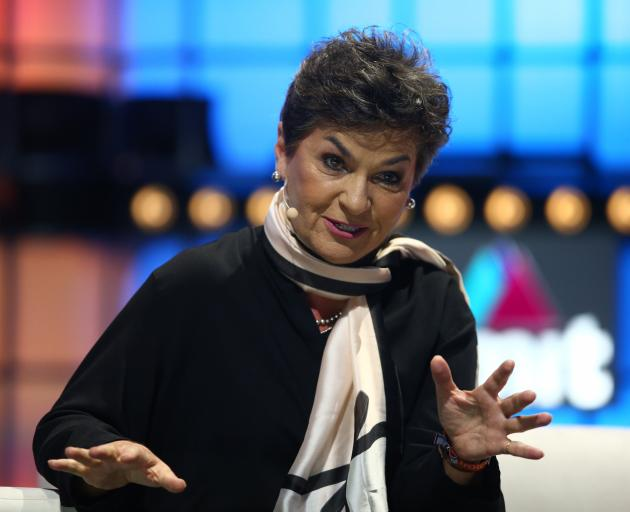 Christiana Figueres, founder of the Global Optimism group says we need to go all in on addressing...