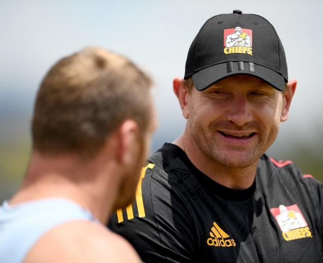 Adam Thomson is set to makes his Chiefs debut against the Sunwolves in Tokyo. Photo: Getty Images