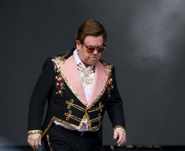 An emotional Sir Elton John was giving the first of three concerts at Mt Smart in Auckland last...