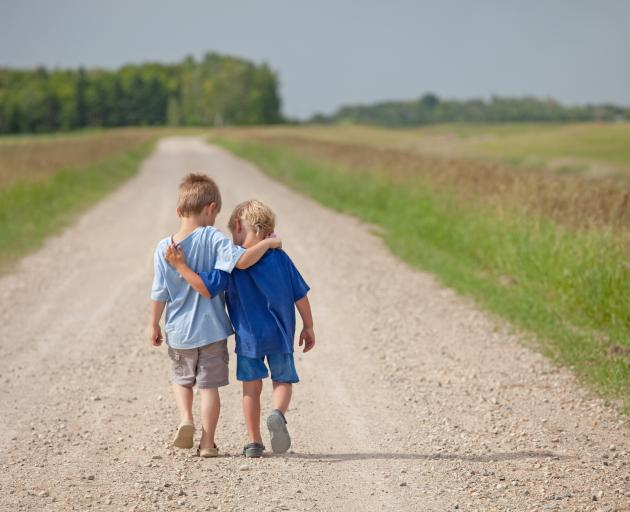 Children need exposure to green space to improve their immune system. PHOTO: GETTY IMAGES