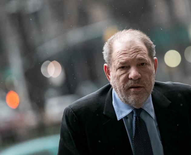 Harvey Weinstein. PHOTO: REUTERS