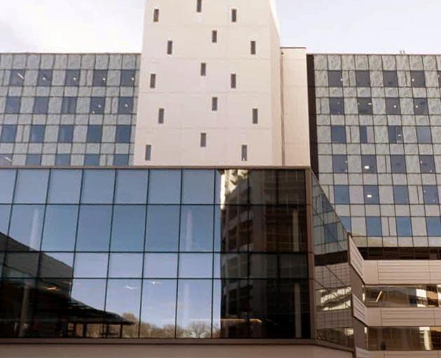 The acute services building at Christchurch Hospital. Photo: CDHB