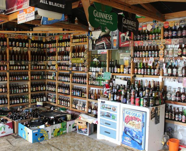 Southlander Les McNaught spent close to 20 years collecting beer and beer paraphernalia from...