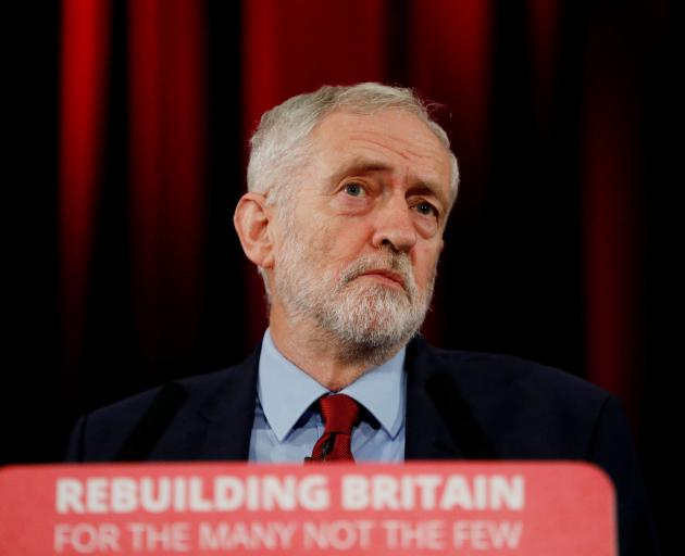 Jeremy Corbyn, leader of the main opposition Labour Party, said the new prime minister must hold...