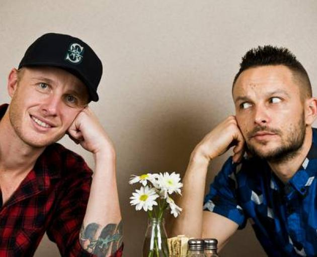 Jono Pryor and Ben Boyce will host The Hits Breakfast. Photo: New Zealand Herald