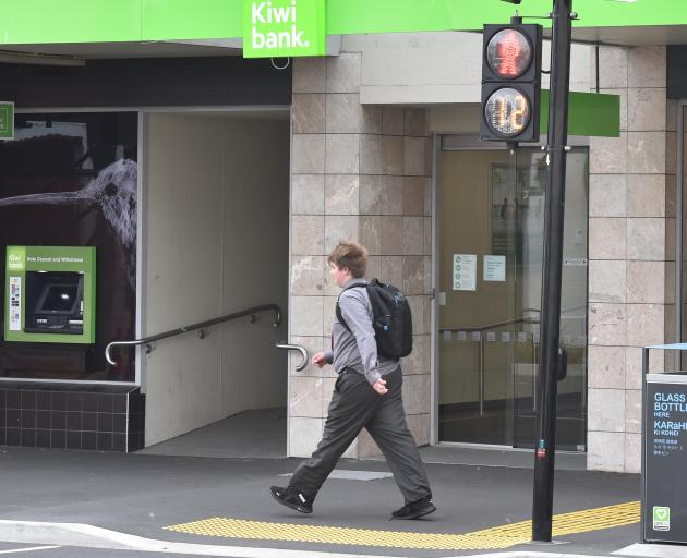 Kiwibank is weaning customers off cheques.PHOTO: GREGOR RICHARDSON