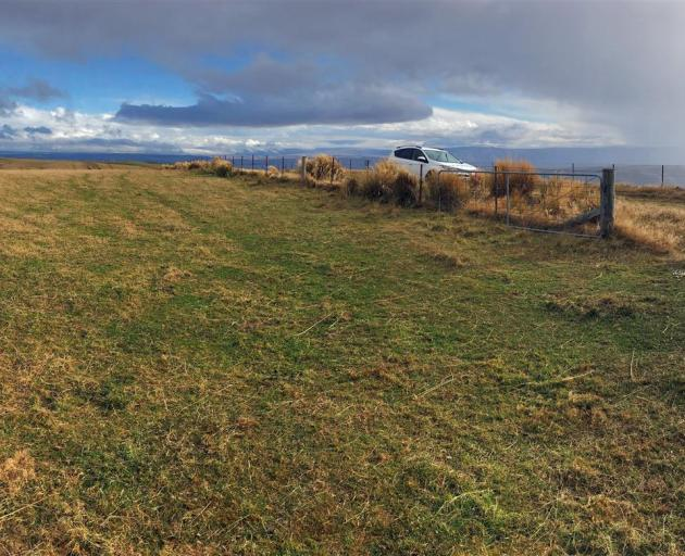 Construction of the MetService's new weather radar is to begin on Lamb Hill next week. Photo:...