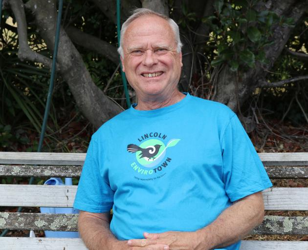 Dave Fitzjohn is responsible for managing the community garden and sustainability projects. Photo...