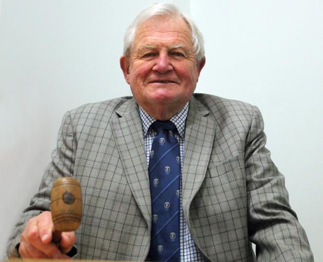 Bill Todd celebrates 65 years working as an auctioneer. PHOTO LUISA GIRAO