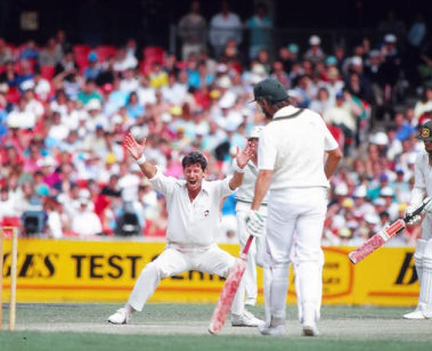 Sir Richard took 431 test wickets for NZ. Photo: Getty Images