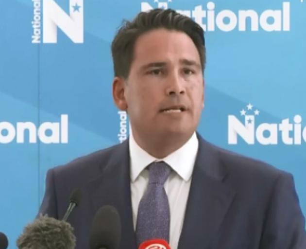 National Party leader Simon Bridges. Image: NZ Herald