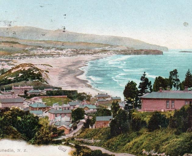A postcard from 1885 shows high sand dunes. PHOTO: SUPPLIED