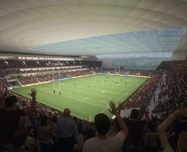 Christchurch is set to get a roofed 25,000-seat stadium. Photo: CCC