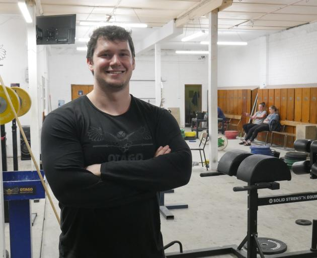 Otago Weightlifting coach Callan Helms will go to the Australian Open in Canberra later this month. PHOTO: JESSICA WILSON