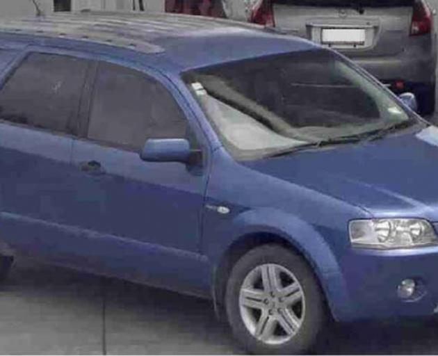 Police investigating the double shooting at McLaren Falls have now located the blue Ford...