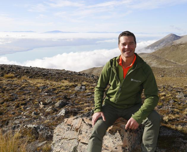 Department of Conservation tahr control programme manager James Holborow.
