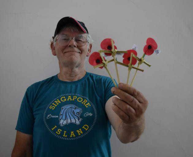 John Bone is travelling to Italy to put Dolores Crosses on graves of fallen New Zealand soldiers...