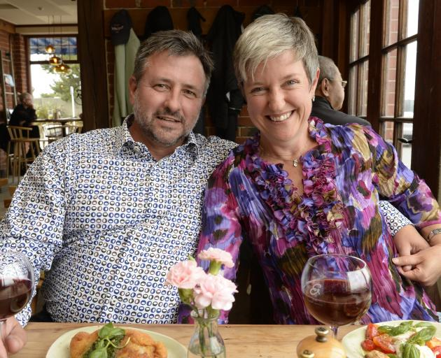 "Dean and Delia Viljoen celebrate their 27th Valentine's Day at The Esplanade in St Clair. ""We..."