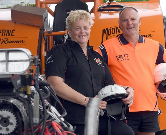 Southland couple Lisa and Brett Heslip share a love of the sport of tractor pull.