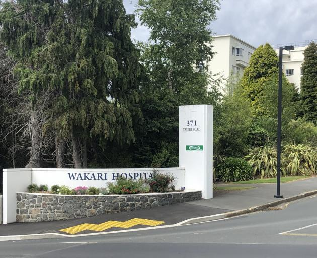 Firefighters were called to Wakari Hospital this morning. Photo: Craig Baxter