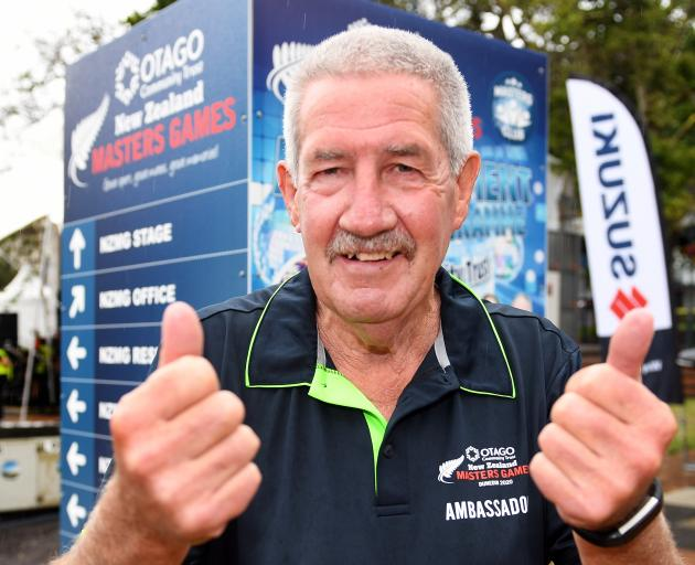Former New Zealand cricket player and coach Warren Lees has taken on a new role as an ambassador for the New Zealand Masters Games being staged in Dunedin this week. Photo: Stephen Jaquiery